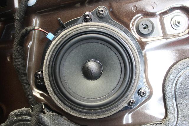 听见心声 宝马x1汽车音响改装英国baf 贵族三分频